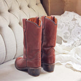 Vintage Whiskey Boots: Alternate View #3