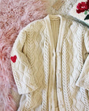 Vintage Fishermans Heart Sweater #2: Alternate View #2