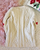 Vintage Fishermans Heart Sweater #2: Alternate View #3