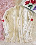 Vintage Fishermans Heart Sweater #2: Alternate View #1
