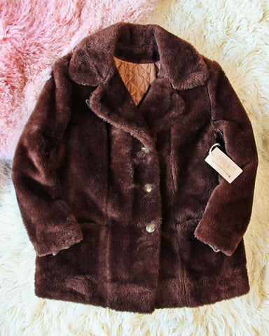Vintage Bear Cabin Coat