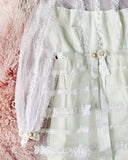 Vintage Daisy Lace Wedding Dress: Alternate View #3