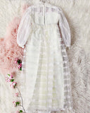 Vintage Daisy Lace Wedding Dress: Alternate View #6