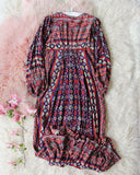 Vintage Gauzy Maxi Dress: Alternate View #3