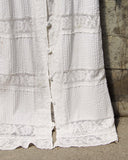 Vintage White Lace Maxi Dress: Alternate View #3