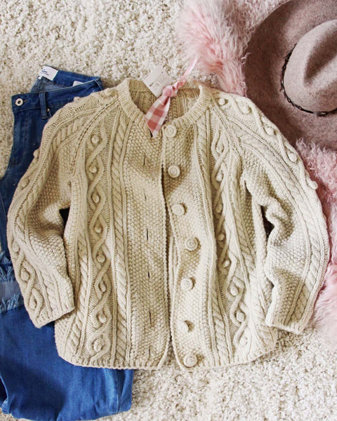 Vintage Fisherman's Knit Sweater: Featured Product Image