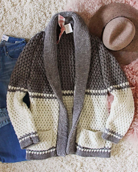 Vintage 70's Hand Knit Sweater: Featured Product Image