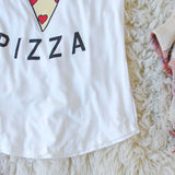 Vote for Pizza Tee: Alternate View #3