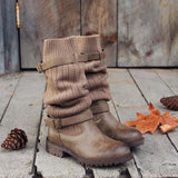 Comfy Cabin Sweater Boots: Alternate View #2