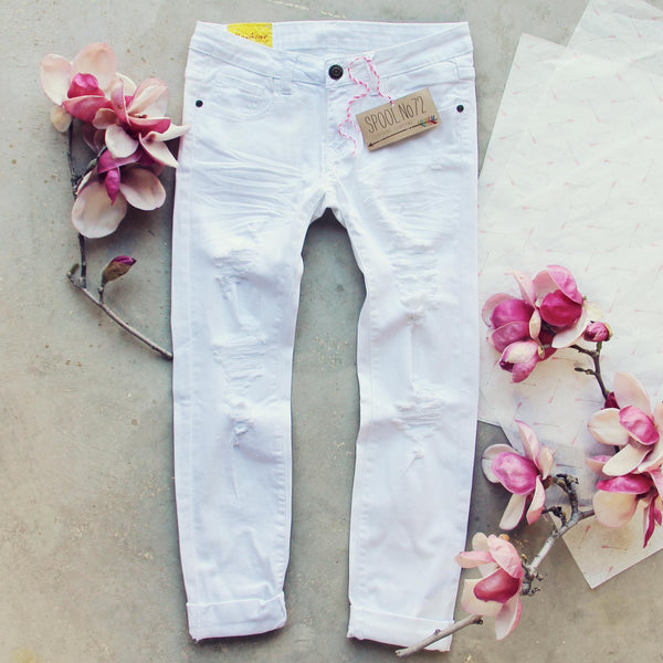 The Weekender Crop Jeans: Featured Product Image