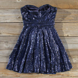 Wishing Star Party Dress in Navy: Alternate View #4