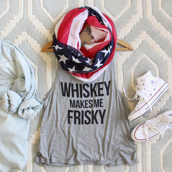 Whiskey Frisky Tank: Featured Product Image