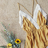 Whiskey & Rye Romper in Mustard: Alternate View #2