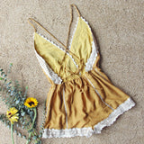 Whiskey & Rye Romper in Mustard: Alternate View #4