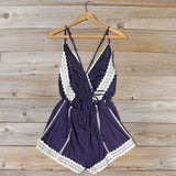 Whiskey & Rye Romper in Navy: Alternate View #4