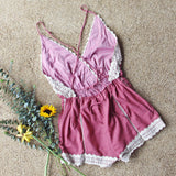 Whiskey & Rye Romper in Rose: Alternate View #3