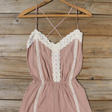 Whiskey & Rye Romper in Taupe: Alternate View #2