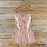 Whiskey & Rye Romper in Taupe: Alternate View #4