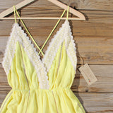 Whiskey & Rye Romper in Yellow: Alternate View #2