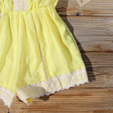 Whiskey & Rye Romper in Yellow: Alternate View #3
