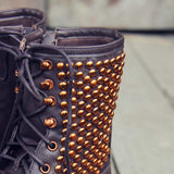 Whistler Studded Work Boots: Alternate View #2
