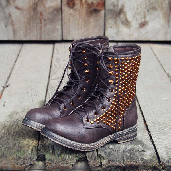 Whistler Studded Work Boots: Featured Product Image