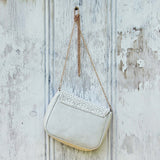 White Lilac Lace Tote: Alternate View #3