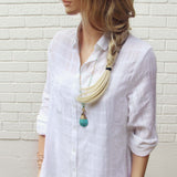 White Sage Shirt Dress: Alternate View #2