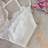Soft Sands Lace Bra: Alternate View #2