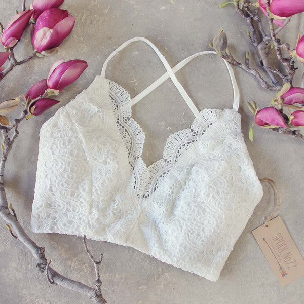 Soft Sands Lace Bra: Featured Product Image