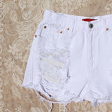 White Sands Distressed Shorts: Alternate View #3