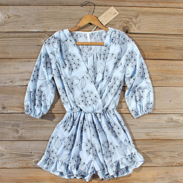 Winter Aster Romper: Featured Product Image