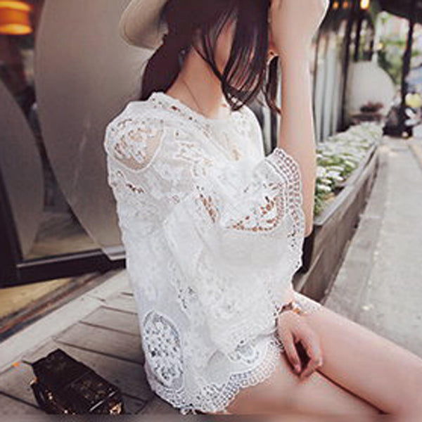 Wild Honey Lace Top: Featured Product Image