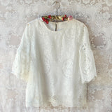 Wild Honey Lace Top: Alternate View #1