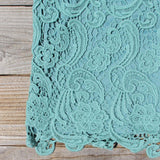 Wild Horses Lace Dress in Sage: Alternate View #3