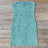 Wild Horses Lace Dress in Sage: Alternate View #4