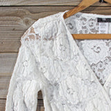 Wild Lace Dress in White: Alternate View #2