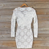 Wild Lace Dress in White: Alternate View #4