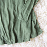 Wild Lavril Tee in Olive: Alternate View #3