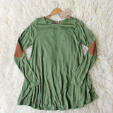 Wild Lavril Tee in Olive: Alternate View #2