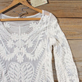Wild & Myth Lace Blouse: Alternate View #2
