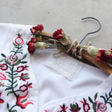 Wild Roses Dress in White (wholesale): Alternate View #5