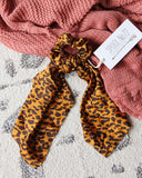 Wild Thing Scarf Scrunchie: Alternate View #1