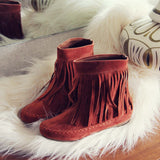 Wildheart Fringe Moccasins: Alternate View #1
