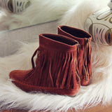 Wildheart Fringe Moccasins: Alternate View #3