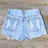 Wildwood Distressed Shorts: Alternate View #3