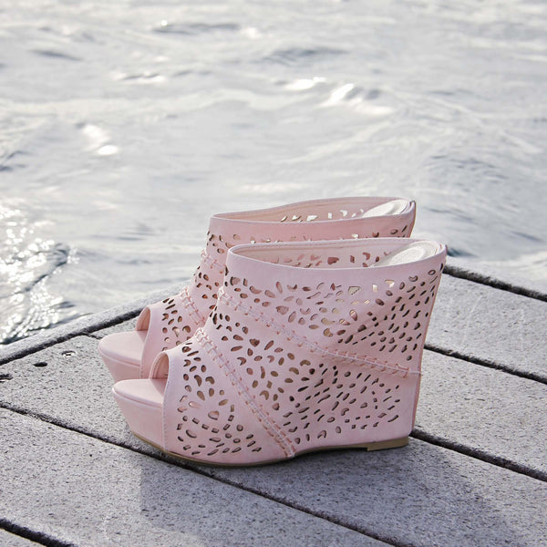 Willow Lace Wedges: Featured Product Image