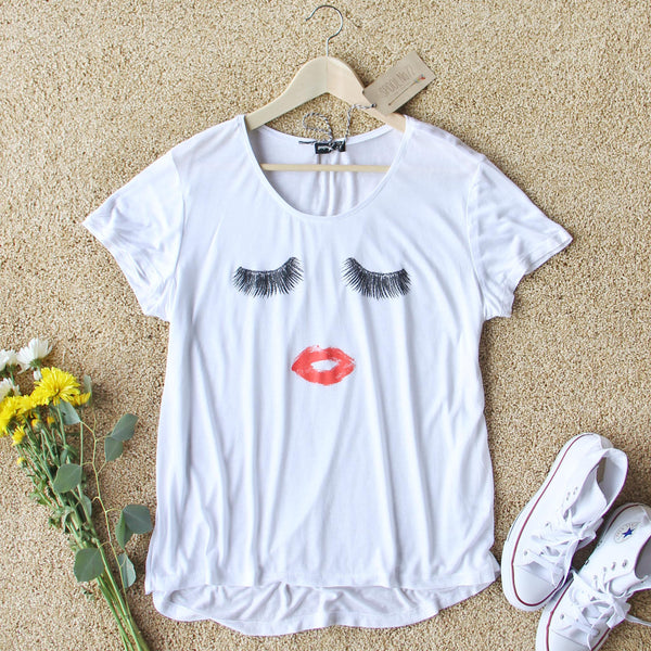 Wink & Kiss Tee: Featured Product Image