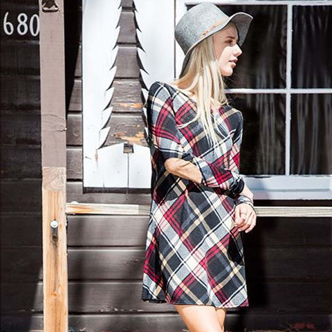 Winter Cabin Dress