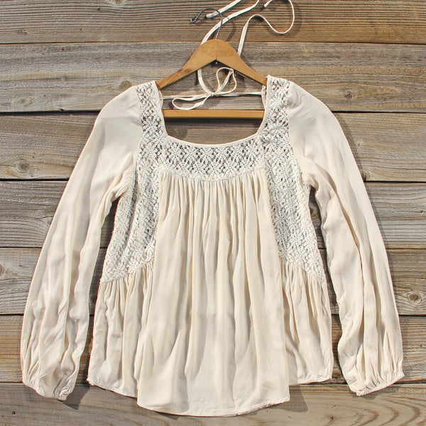 Winter Boheme Blouse: Featured Product Image